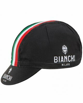 BIANCHI OLTRE Black Team Cycling Cap NEW Bike Ride Hat Free Shipping !!