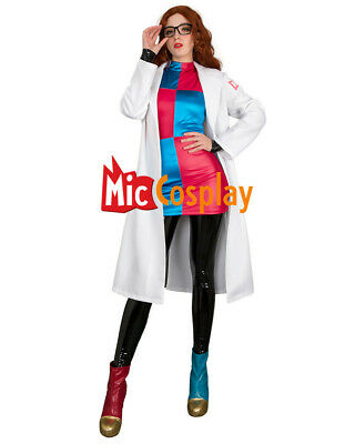 Dragon Ball Android 21 Cosplay Costume Boot Covers Earrings Woman Halloween  - Android Halloween Costume