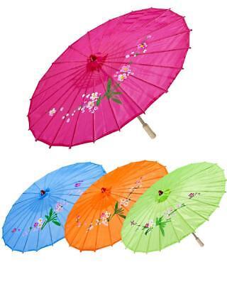 1 Parasol Sombrilla Oriental Accesorios Carnaval Ps 10141