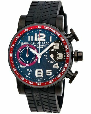 Graham Silverstone Stowe 44 Chronograph Automatic Men's Watch - 2SAAB.B01A