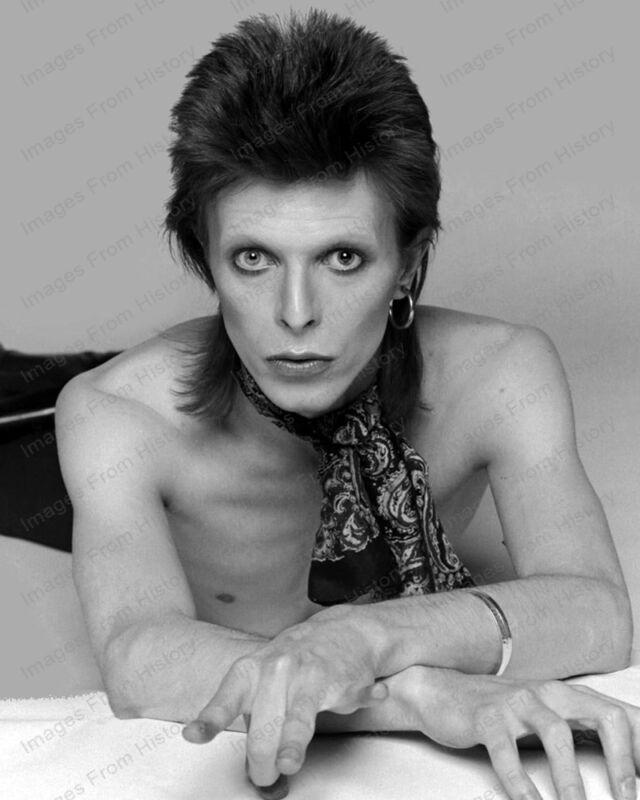 8x10 Print David Bowie Rock Superstar Icon #DB01