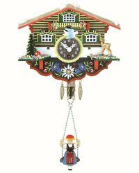 Black Forest Clock Swiss House  TU 55 SQ NEW