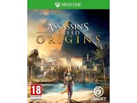 as new assassins creed origins for xbox one and one x