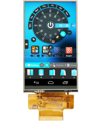4 Inch Or 3.97 Inch Tft Lcd Display Module 480x800 With Resistive Touch Screen