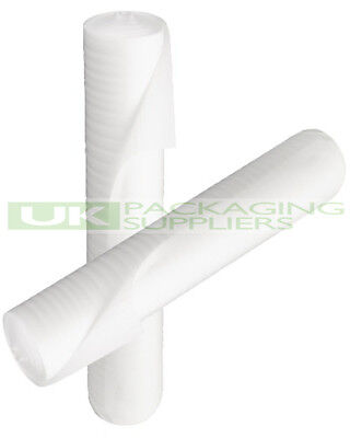 1 SMALL ROLL OF WHITE JIFFY CUSHIONING FOAM WRAP 750mm x 50 METRES - NEW