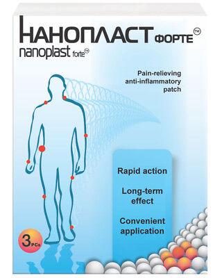 Nanoplast Forte  Unique First Aid Patch  Rare Earth Materials