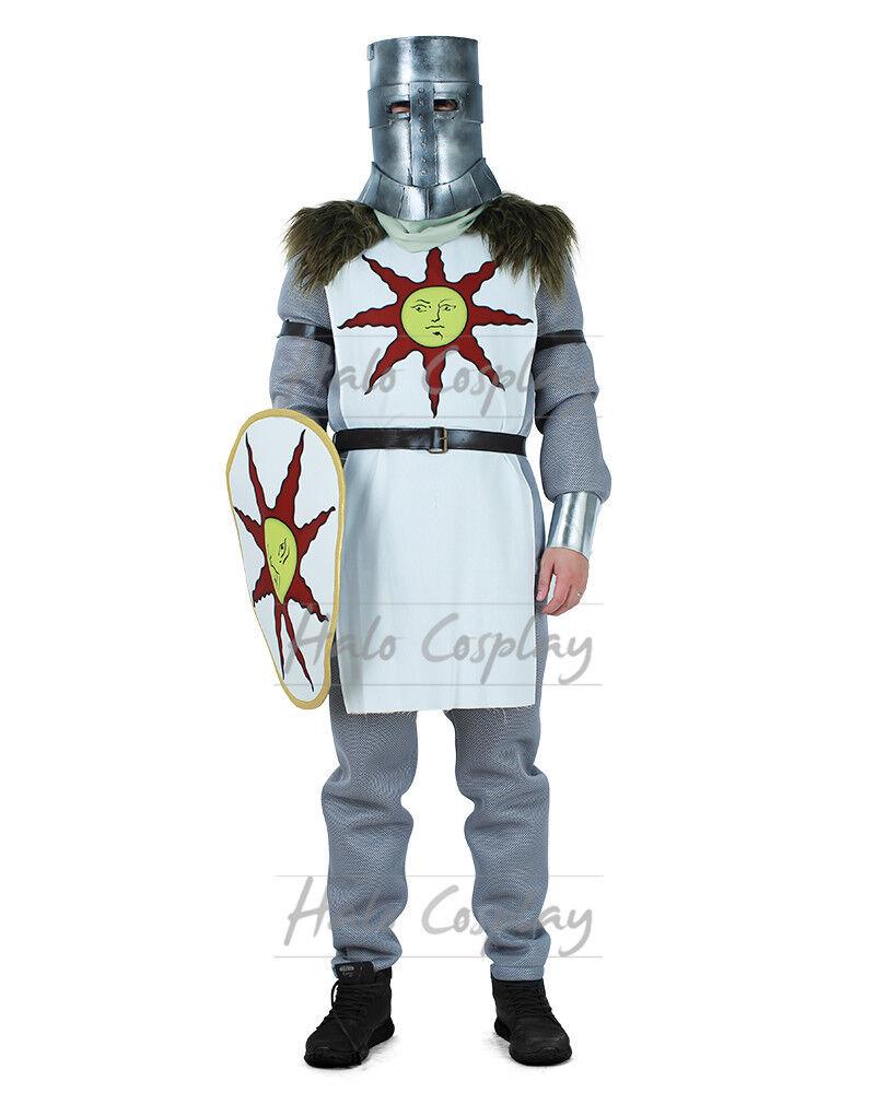 Solaire of Astora CostumeWarrior of Sunlight Dark Souls 3 Cosplay Tabard Shield