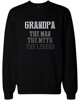 The Man Myth Legend Sweatshirt for Grandpa Christmas Gift idea for Grandfather
