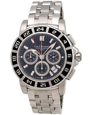Carl F. Bucherer Patravi TravelGraph GMT Chrono Men's Watch - 00.10618.13.33.21