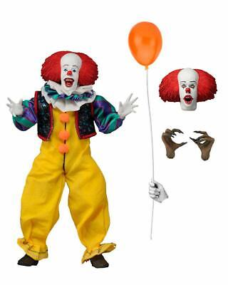 """NECA Retro Clothed Action Figures - IT 1990 Movie - 8"""" Pennywise IN STOCK for sale  Shipping to India"""