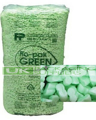 30 CUBIC FEET FLOPAK SUPER 8 POLYSTYRENE VOID LOOSE FILL PACKING PEANUTS