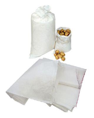 25 Woven Polypropylene Bags Sacks Size 22x36