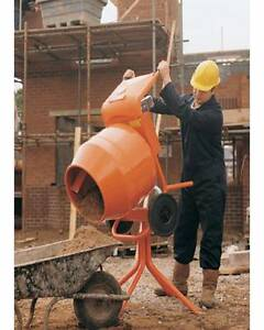 0.5HP PORTABLE WHEEL BARROW CONCRETE CEMENT MIXER - SALES BRAND Mernda Whittlesea Area Preview