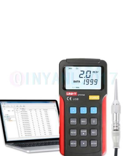 UNI-T Handheld Bibration Testers,Speed/Displacement Split Vibrometer UT315A