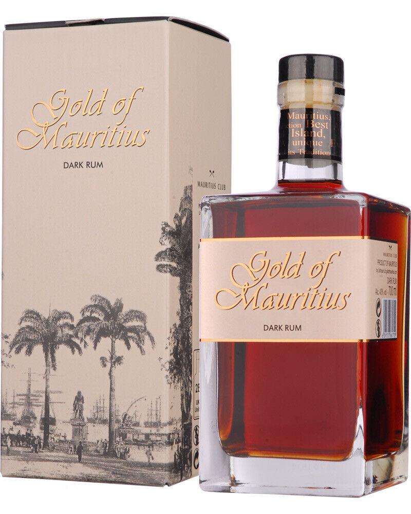 Gold of Mauritius Dark Rum Solera 40 % Vol. / 0,7 Liter Flasche