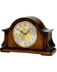 Bulova Chadbourne Old Work Clock - Walnut