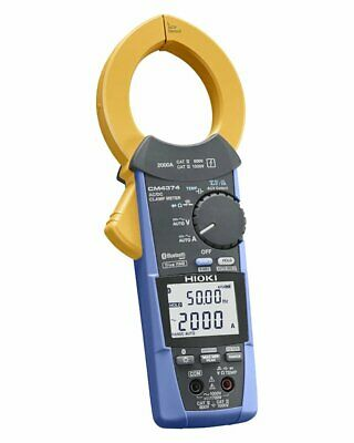 Hioki Acdc Clamp Meter Cm4374 Acdc2000a Bluetoth Ems W Tracking New