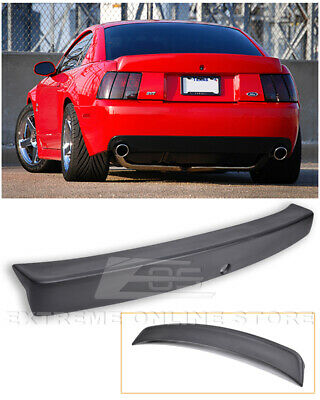 For 99-04 Ford Mustang CBR Style Rear Trunk Wing Spoiler - Opening for Key - 04 Mustang Rear Bumper