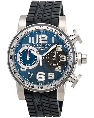 Graham Silverstone Stowe 44 Chronograph Automatic Men's Watch - 2SAAC.B03A