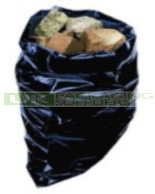 10 STRONG 500 GAUGE PLASTIC RUBBLE STORAGE SACKS BAGS SIZE 20x30