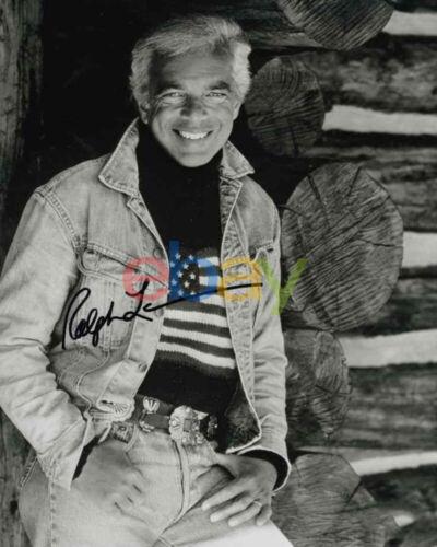 Ralph Lauren Autographed 8x10 Photo signed reprint