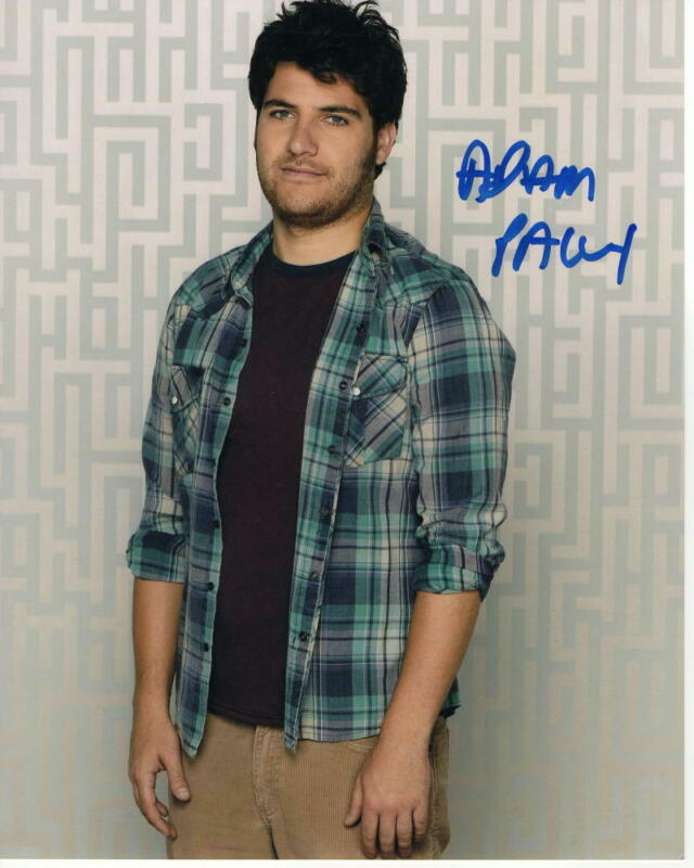 ADAM PALLY SIGNED AUTOGRAPH 8X10 PHOTO THE MANDALORIAN BIKE SCOUT, HAPPY ENDINGS
