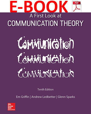 A First Look at Communication Theory (10th edition) EB00K