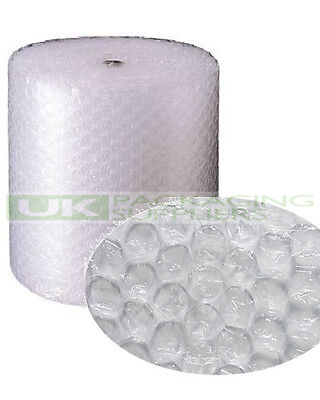 6 LARGE BUBBLE WRAP ROLLS 750mm WIDE x 50 METRES LONG PACKAGING CUSHIONING - NEW
