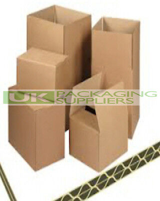 90 x Shipping Removal Postal Boxes 50.6x50.6x50.6cm DOUBLE WALL