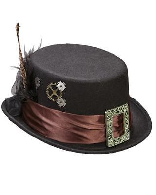 Sombrero Steampunk Fieltro Accesorios Disfraz de Carnaval Ps 26420
