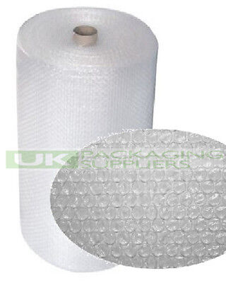 2 SMALL BUBBLE WRAP ROLLS 1000mm WIDE x 100 METRES LONG PACKAGING CUSHIONING