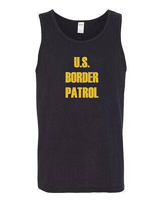 US Border Patrol US Army Tank Top Tee Border Patrol T-shirt Tee Top