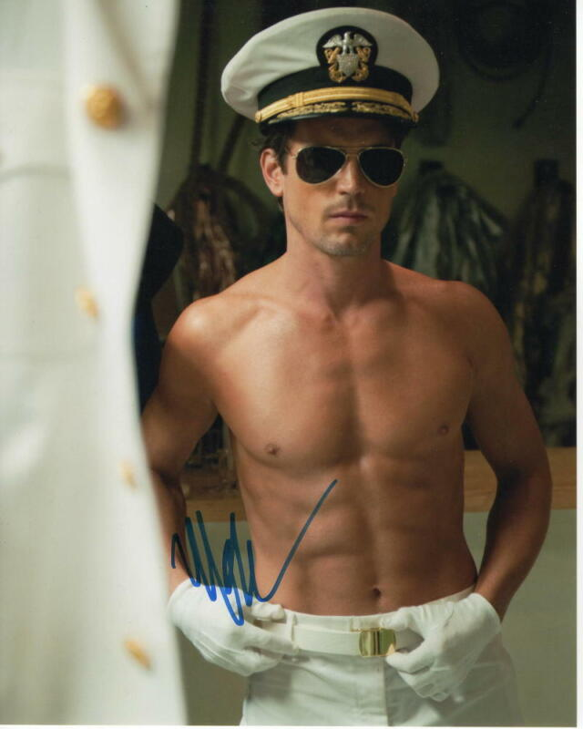MATT BOMER SIGNED AUTOGRAPH 8x10 PHOTO - SHIRTLESS STUD, MAGIC MIKE, DOOM PATROL