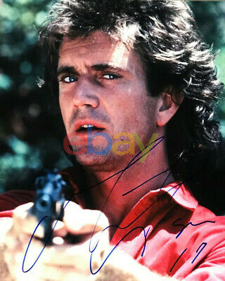 Mel Gibson Signed 8x10 LETHAL WEAPON Photo Autographed AUTO Reprint - $6.95