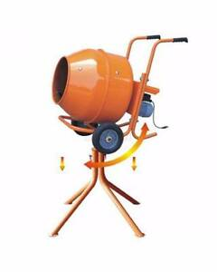 0.5HP PORTABLE WHEEL BARROW CONCRETE CEMENT MIXER - TOOLS NEW Westmeadows Hume Area Preview