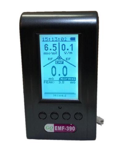 EMF-390 3-in-1 multi-field Spectrum Analyzer  EMF Meter with Data logger 10GHZ