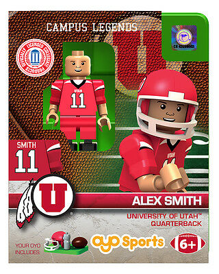 ALEX SMITH UTAH UTES OYO MINIFIGURE BRAND NEW FREE SHIPPING