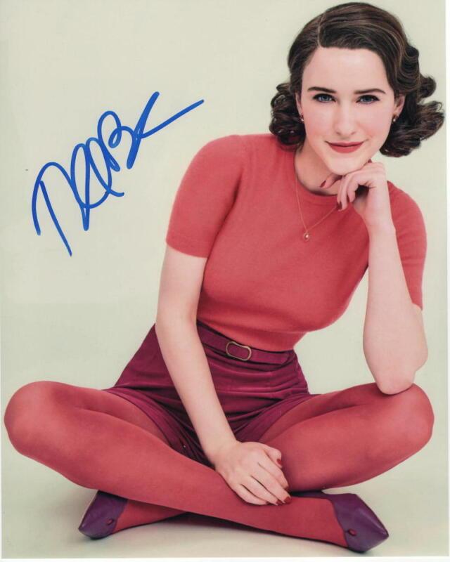 RACHEL BROSNAHAN SIGNED AUTOGRAPHED 8X10 PHOTO - MIDGE MAISEL, THE MARVELOUS MRS
