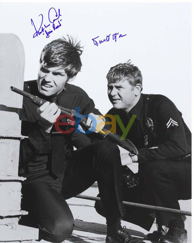Adam 12 Cast McCord and Milner Autographed Signed 8x10 Photo reprint 1
