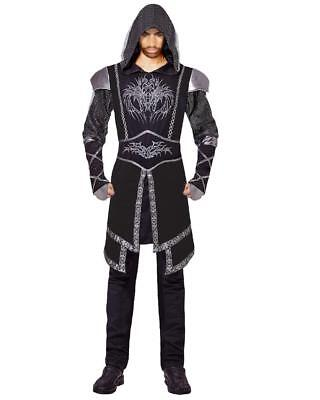 Costume Carnevale Uomo Cavaliere Dark Assassin PS 26155 (Dark Assassin Kostüm)