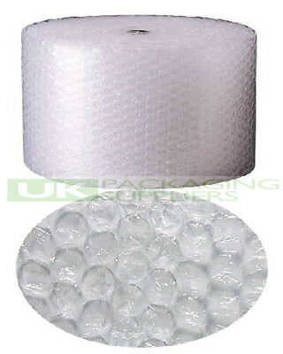 5 LARGE BUBBLE WRAP ROLLS 300mm WIDE x 50 METRES LONG PACKAGING CUSHIONING NEW