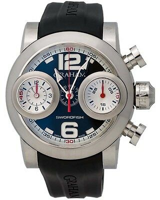 Graham Swordfish Booster Automatic Chronograph Men's Watch - 2SWBS.B37R