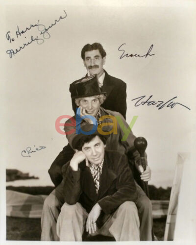 Marx Brothers Signed 8x10 Photo reprint