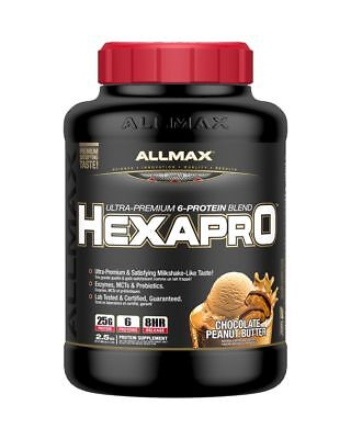 AllMax Nutrition HexaPro Protein Blend 5lb - All Flavors - Nutrition Protein Blend