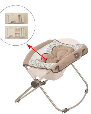 1 White Harness Seat Clip for Eddie Bauer Baby Rocker Bouncer Swing Sleeper for sale  Encino