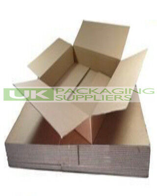 5 BROWN ROYAL MAIL SMALL PARCEL POSTAL BOXES - SIZE 440 x 349 x 79mm - NEW