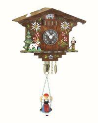 Black Forest Clock Swiss House  TU 107 SQ NEW