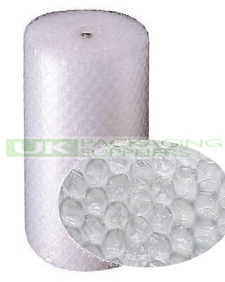 2 LARGE BUBBLE WRAP ROLLS 1200mm (1.2m) WIDE x 50 METRES LONG PACKAGING - NEW