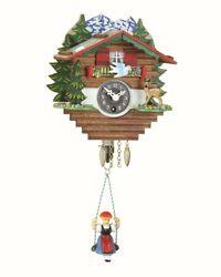 Black Forest Clock Swiss House  TU 59 SQ NEW