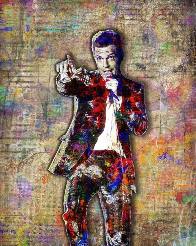 Brandon Flowers Of THE KILLERS 16x20inch Poster Killers Tribute Free Shipping